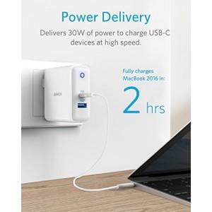 ANKER PowerPort IIPDwith USB-C PD andPowerIQ 2.0 WallCharger