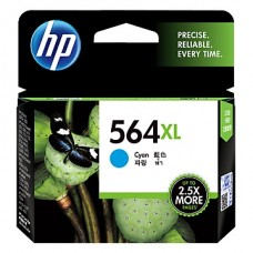 HP 564XL High Yield Cyan Original Ink Cartridge