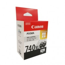 PG-740XL Twin Pack ink cartridges with print head (High Capacity)