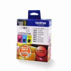 Brother LC161CL 3PK Colour Ink