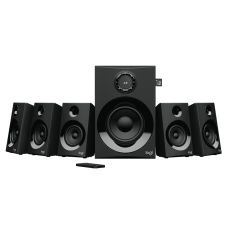Logitech Z607 5.1 SURROUND SOUND SPEAKER SYSTEM Powerful Sound with Bluetooth