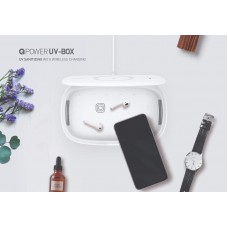 Momax Q.UV Sanitizing Box With Wireless Charging