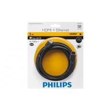 Philips 配備乙太網絡的 HDMI 電線 3.0 米, 高速, Ethernet