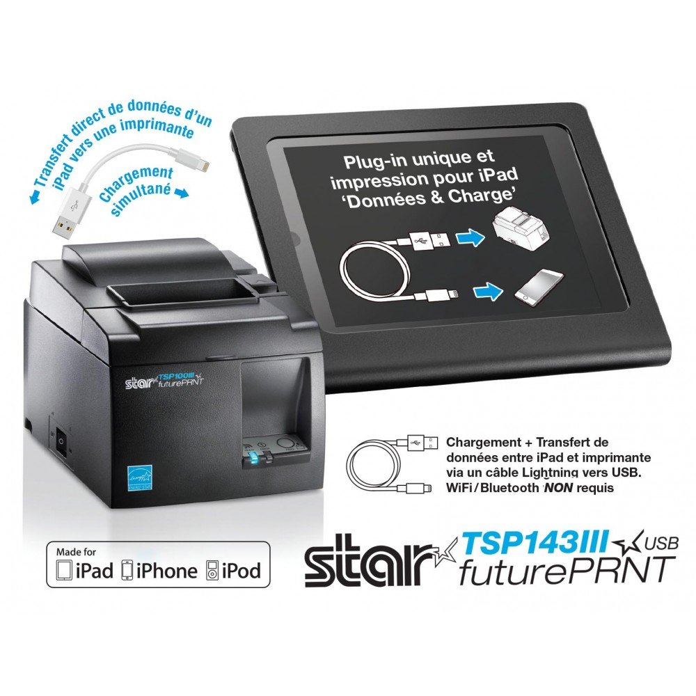 STAR TSP143IIIU USB Receipt Printer