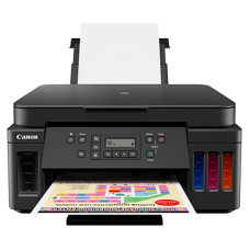 Canon PIXMA G6070 refillable ink duplex all-in-one printer