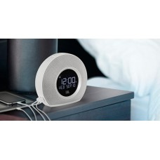 JBL Horizon Bluetooth clock radio with USB charging and ambient light