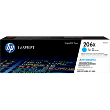 HP 206X High Yield Cyan Original LaserJet Toner