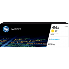 HP 416X High Yield Yellow Original LaserJet Toner Cartridge